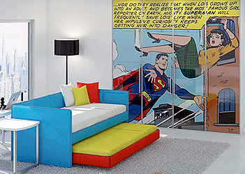 Holy Comic Books Look at that Room